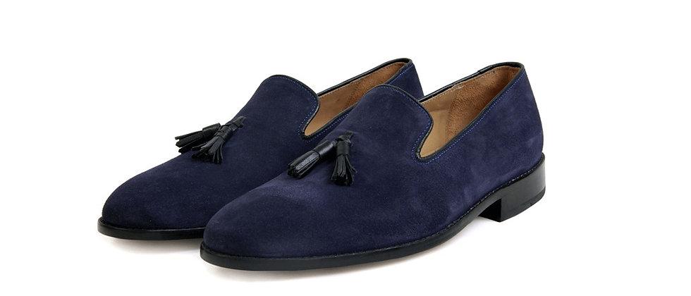 ZOD Blue Tassel Loafer