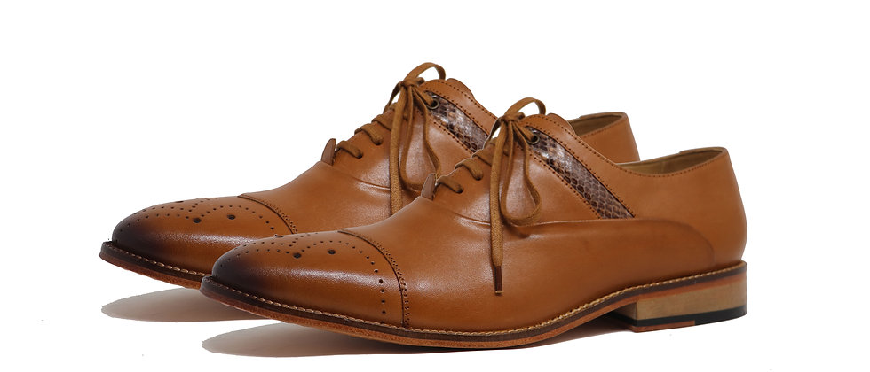 Benito Tan Oxford Shoes