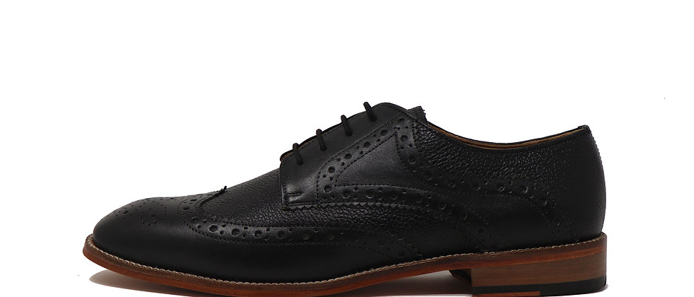 Adelmo Blue Comb Derby Shoes