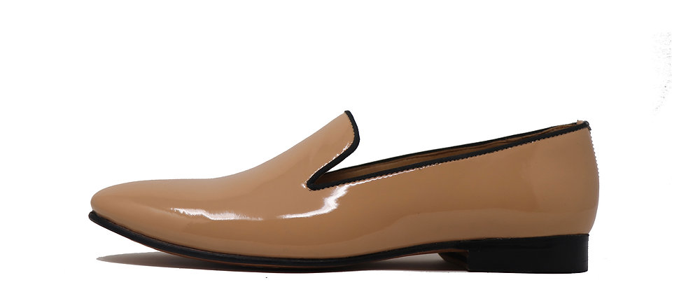 Lujo Natural Patent Party Loafer