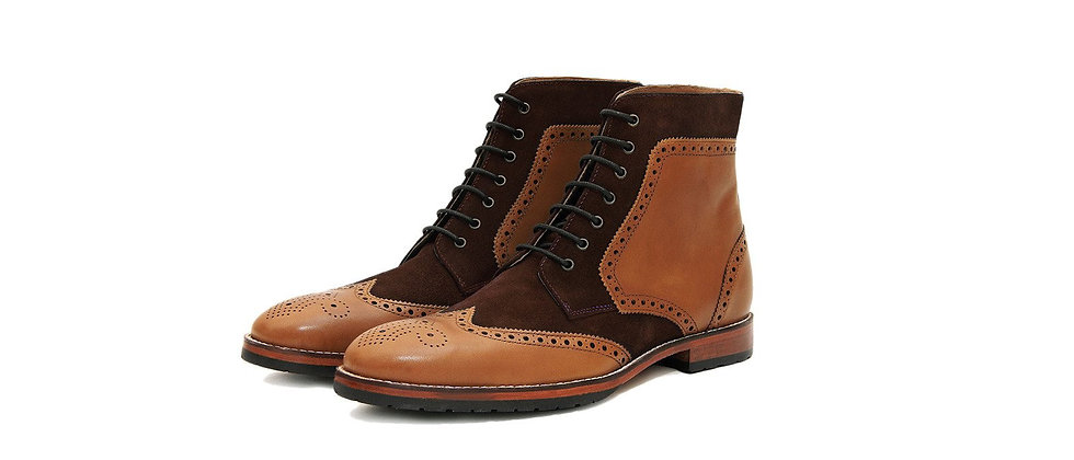 BULA Brown Tan Boots