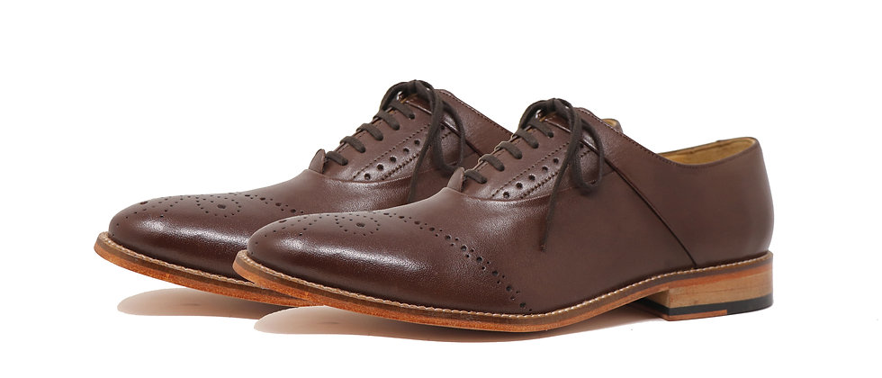 Benito Brown Oxford Shoes