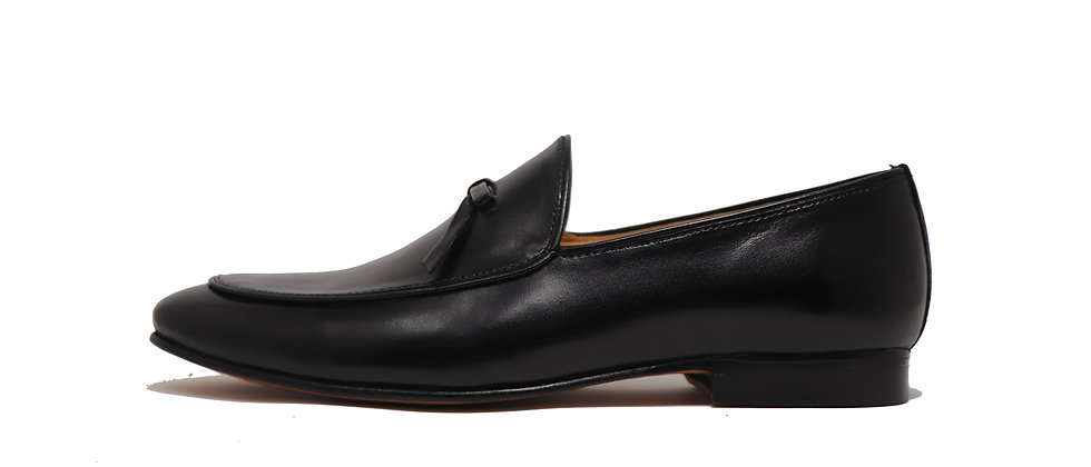 Bigote Black Party Loafer Shoes