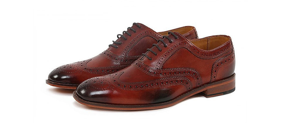 OXY Brown Burnished Oxford