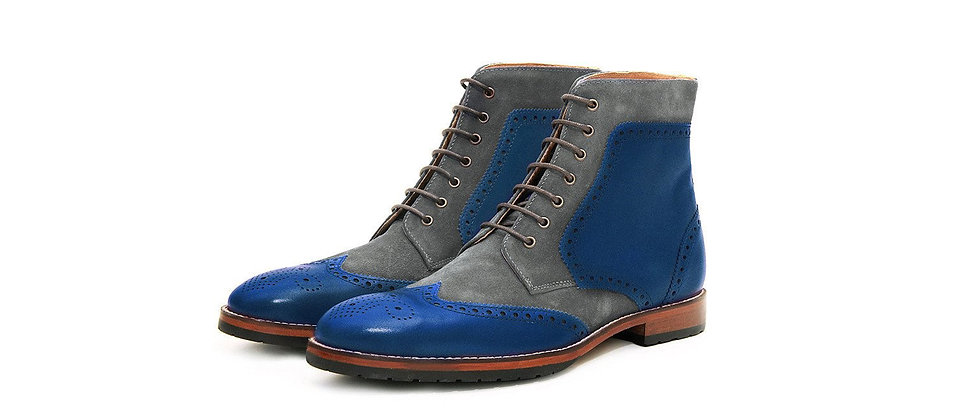 BULA Blue Grey Boots