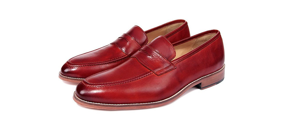 Madrid Chilly Red Penny Loafer