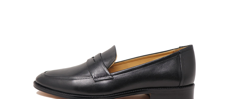 Luis Black Loafer