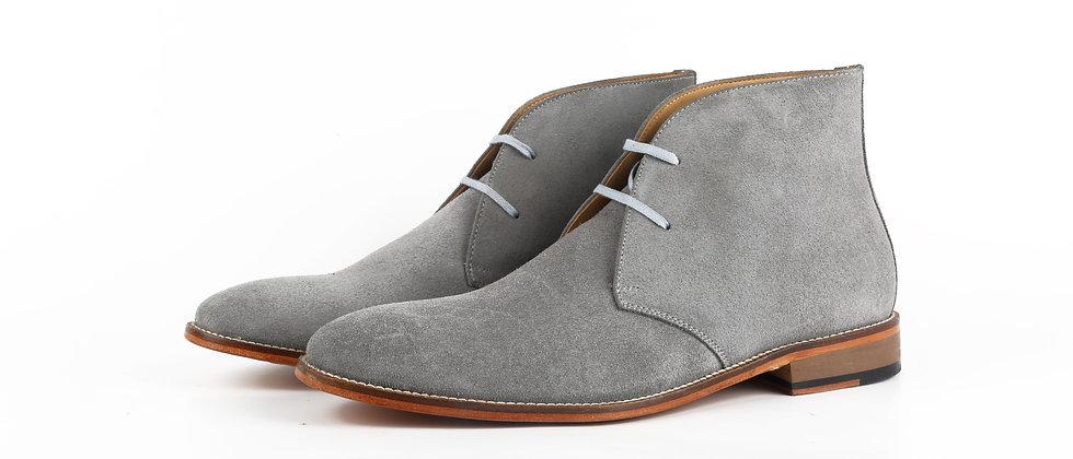 Dafano Grey Chukka Bootss