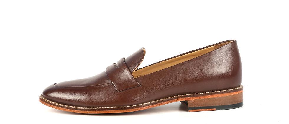 Milagro Brown Blind Stitch Loafer   Loafer
