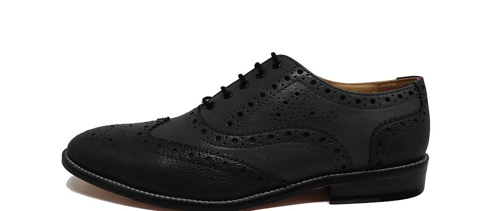 Abbey Two Black Oxford Shoes