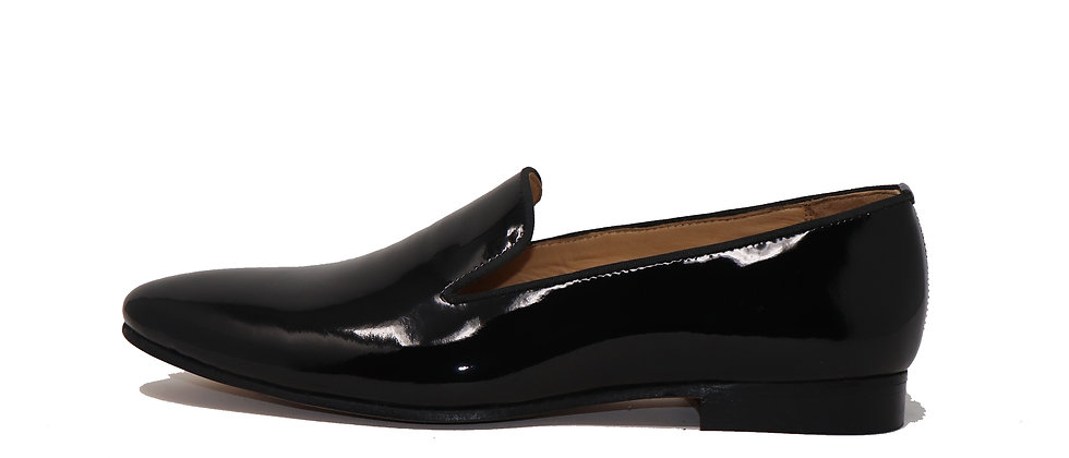 Lujo Black Patent Party Loafer