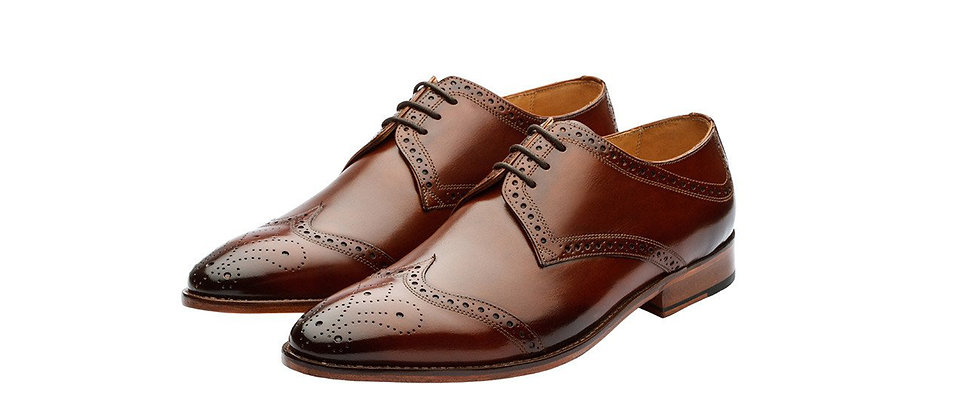 Nicolas Brown Tan Derby