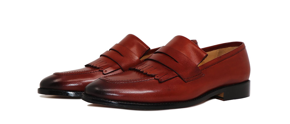 Luxa Kelt DBrown Party Loafer