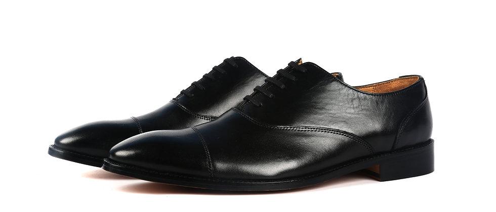 Oliver Toe Cap Black Oxford