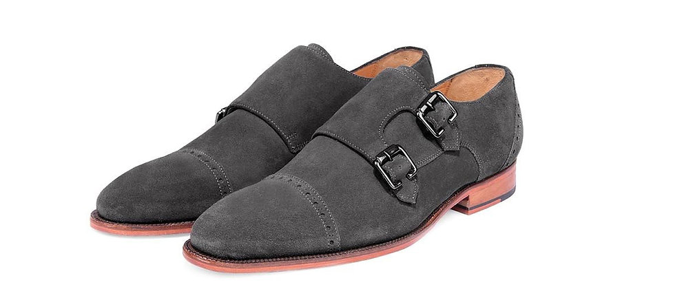 Domingo Grey Double Strap Monkss