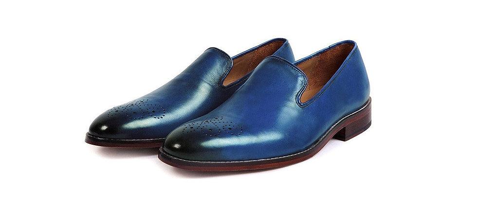 Lucida Blue Loafer Shoes