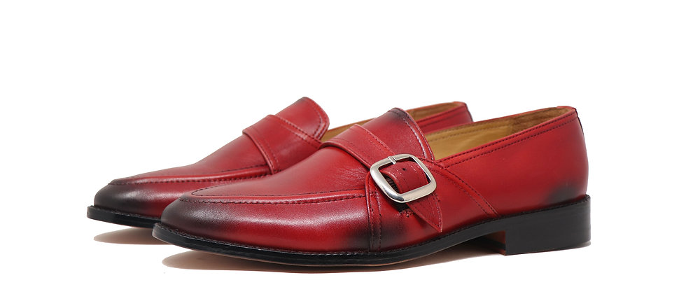 Marques Cherry Single Strap Loafer