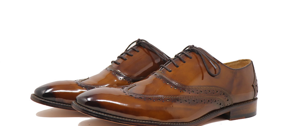 Brillante Jelly Hand Paint Tobacco Oxford