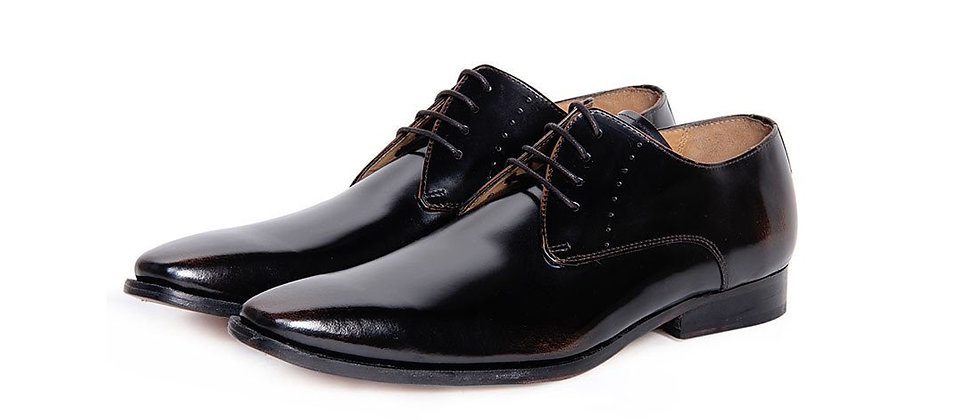 Eloy Black Derby Shoes