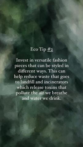 Eco Tip 2