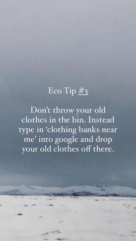 Eco Tip 3
