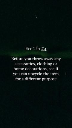 Eco Tip 4