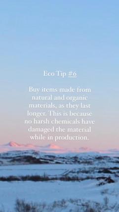 Eco Tip 6