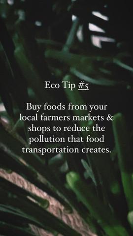 Eco Tip 5