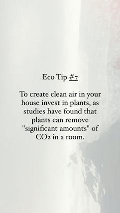 Eco Tip 7