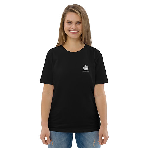 Black Unisex Organic Cotton T-shirt