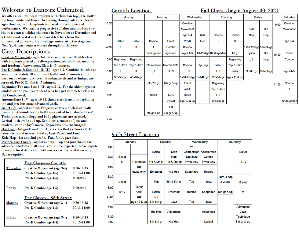 Fall 2021 Schedule Page 1 072221.png