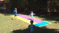 Some backyard fun in the North Shore