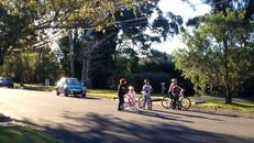 After school bike riding fun