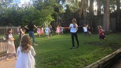 Backyard fun with the kids