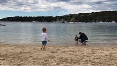 Kids enjoying the beach!