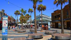 Shopping town centre