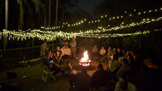 Campfire bonding with the community