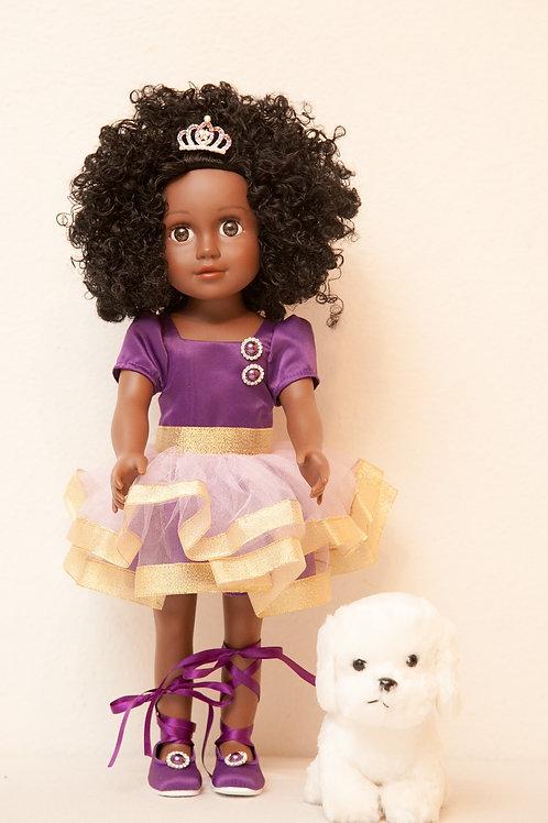 "Princess Namikka (18"" Purple Doll)"