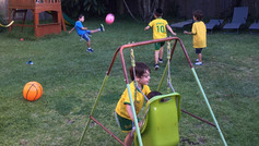 Backyard Football Fun!
