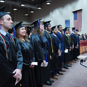 Spring 2019 Convocation  - College of business and innovation