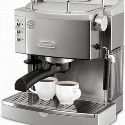 Delonghi EC702 15 Bar Pump Driven Machine Silver مكينة قهوة