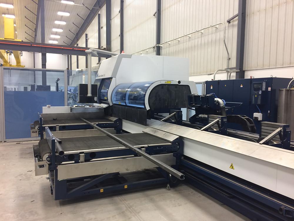 NEW Trumpf Tube 7000 Laser Cutter Experts | Heartfab Ltd. | Manitoba