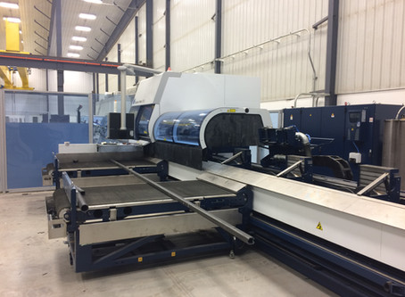 Manitoba's Laser Cutting Experts Add State-of-the-art Trumpf Tube 7000