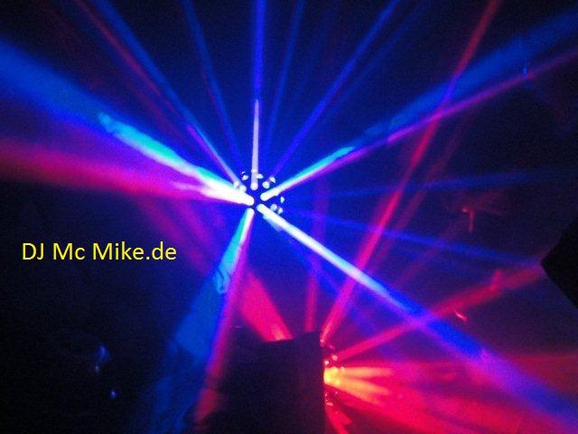 Lasershow mit DJ Mc Mike Paderborn