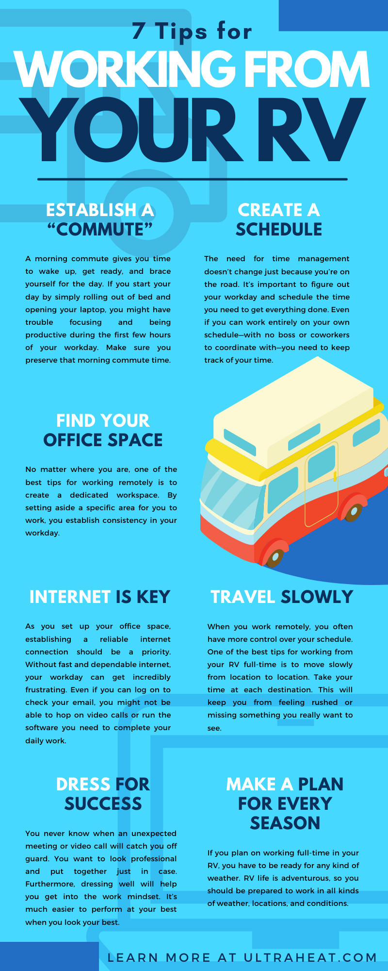 7 Tips for Working From Your RV