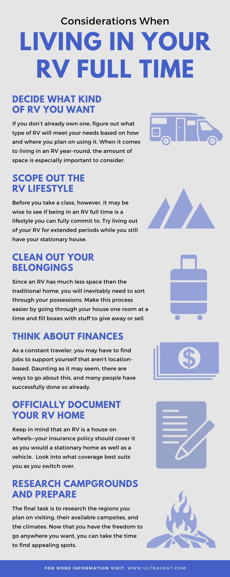 Living in Your RV Full Time
