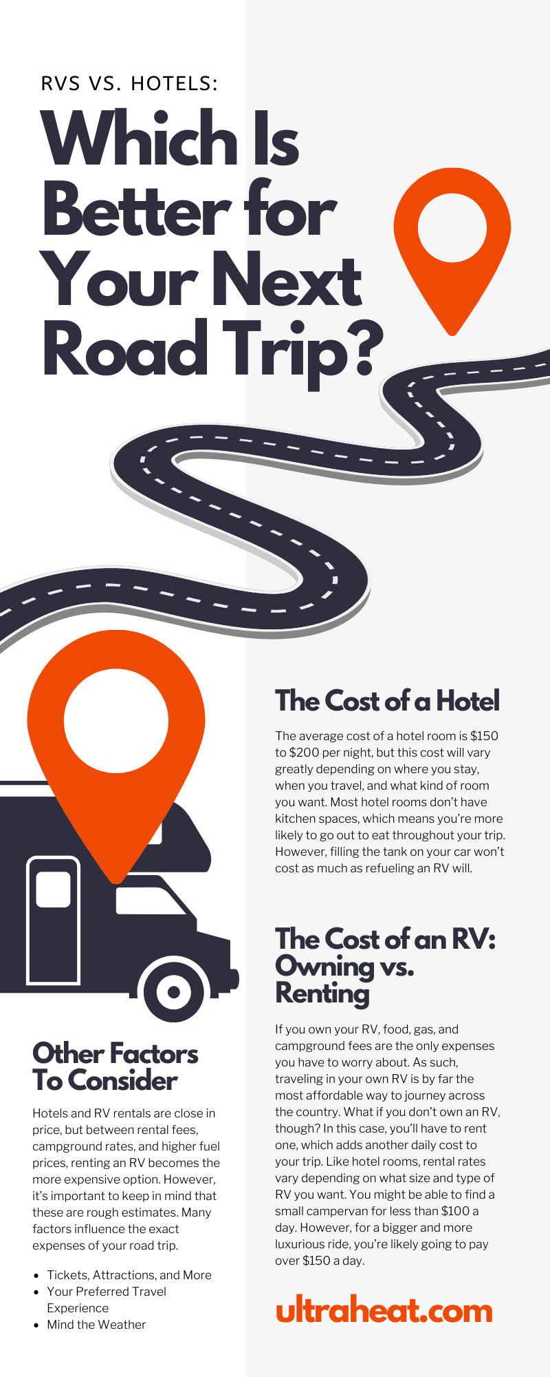 RVs vs. Hotels: Which Is Better for Your Next Road Trip?