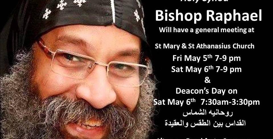 Bishop Raphael Visit