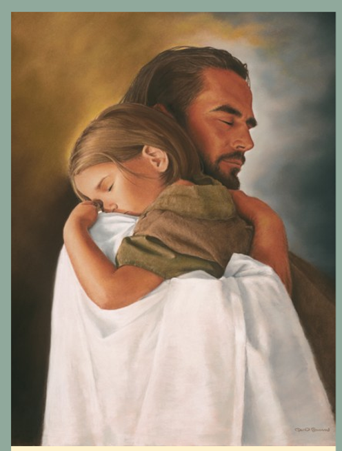 I will never leave you - Jesus and Child