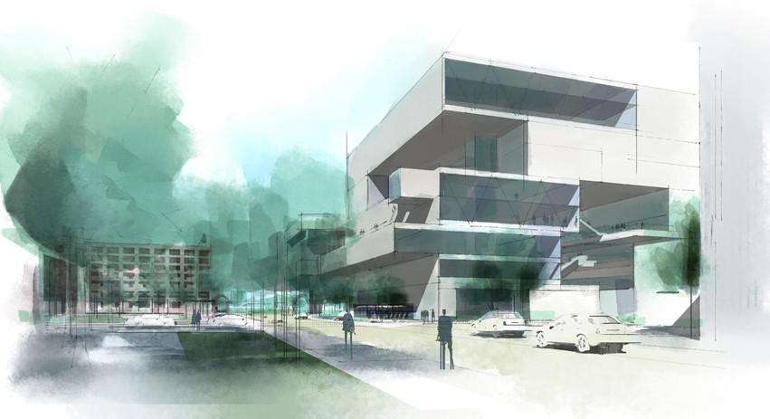 DCCCD El Centro College Master Plan CaCo Architecture